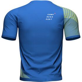 Compressport Performance SS Tshirt Men blue lolite